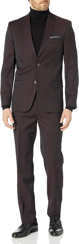 Ben Sherman Men's Two Button Slim Fit Suit