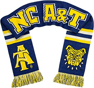 Tradition Scarves NC A&T Aggies Scarf - North Carolina A&T University Classic Knitted