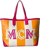 MCM - Ilse Canvas Shopper Large