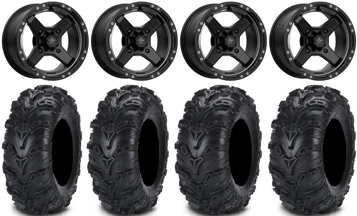 Max 66% High quality OFF Bundle - 9 Items: MSA Black Cross II Wheels 14