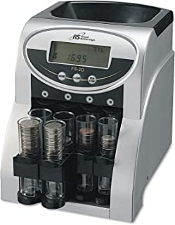 RSIFS2D - Royal Sovereign Electric 2 Row Coin Sorter - Sorts 312 Coins/min