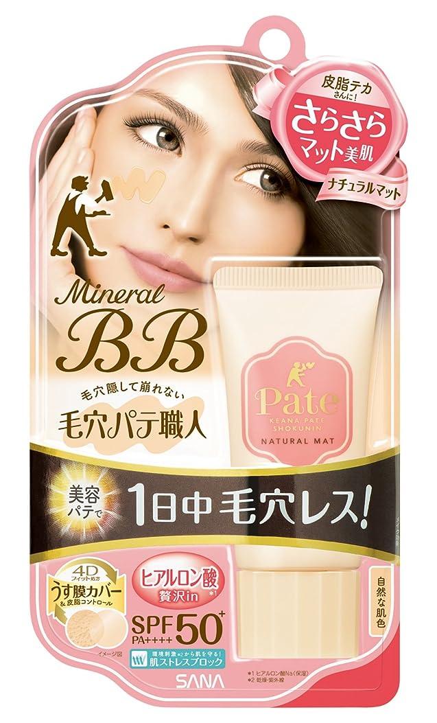 役に立つ磁器バタフライ毛穴パテ職人 ミネラルBBクリーム ナチュラルマット 自然な肌色 30g