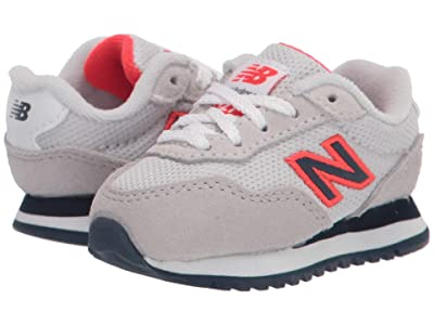 New Balance Kids 527 (Infant/Toddler) (Summer Fog/Energy Red) Boy