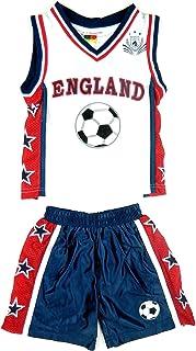 A2Z 4 KIDS Boys FIFA World Cup England Football Summer Shorts & T Shirt Top Kit 1-12 Years