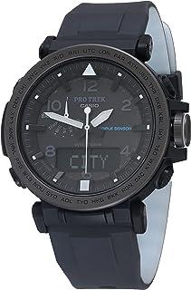 Men's 'PRO TREK' Solar Powered Silicone Watch, Color:Black (Model: PRG-650Y-1CR)