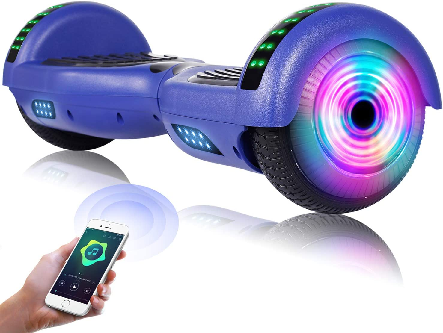 EPCTEK Hoverboard 人気の定番 Self Balancing Spe Bluetooth Hoverboards ランキング総合1位 with