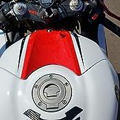 NLJYSH Mode Carbon Motorcycle Decal Pad Triple Tree Top Clamp Upper Front End Auto/étiquettes Autocollants for Suzuki GSXR1300 Hayabusa 08-12 Unique
