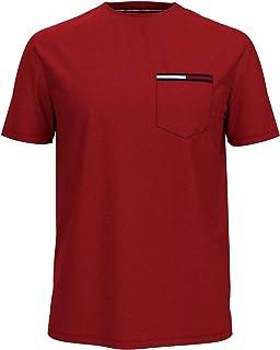 Tommy Hilfiger Men's Short Sleeve Crewneck T Shirt with Pocket