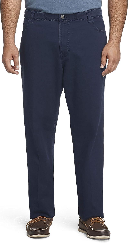 Van Popular product Heusen Men's Big Tall Pant Tucson Mall Pocket 5 Fit Straight