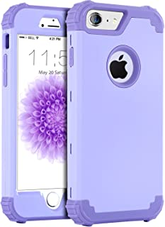 iPhone 6S Plus Case, iPhone 6 Plus Case, BENTOBEN Anti-Scratch Non-Slip 3 in 1 Hybrid Heavy Duty Rugged Hard PC Shockproof Silicone Bumper Protective Case for iPhone 6S Plus/6 Plus (5.5