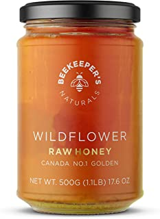 Sponsored Ad - BEEKEEPER'S NATURALS Wildflower Honey - Raw, Wildcrafted, and Unprocessed- Rich in Nutrients and Beneficial...