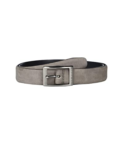Ted Baker Chand Nubuck Centre Bar Belt (Grey) Men