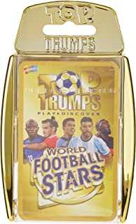 Winning Moves Top Trumps World Football Stars Card Game, Gold, 032155