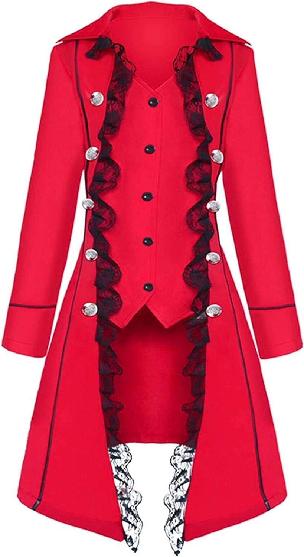 Fashion Womens lace Steampunk Thin Jacket Casual Jackets Retro Victorian Punk Women Medieval Jacket Coat