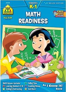 Math Readiness K-1 Workbook