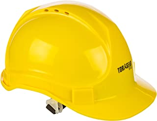 TorxGear Kids Child Hard Hat - Ages 2 to 6 - Kids Yellow Safety Construction Helmet or Costume, 3 Years to 6 Years