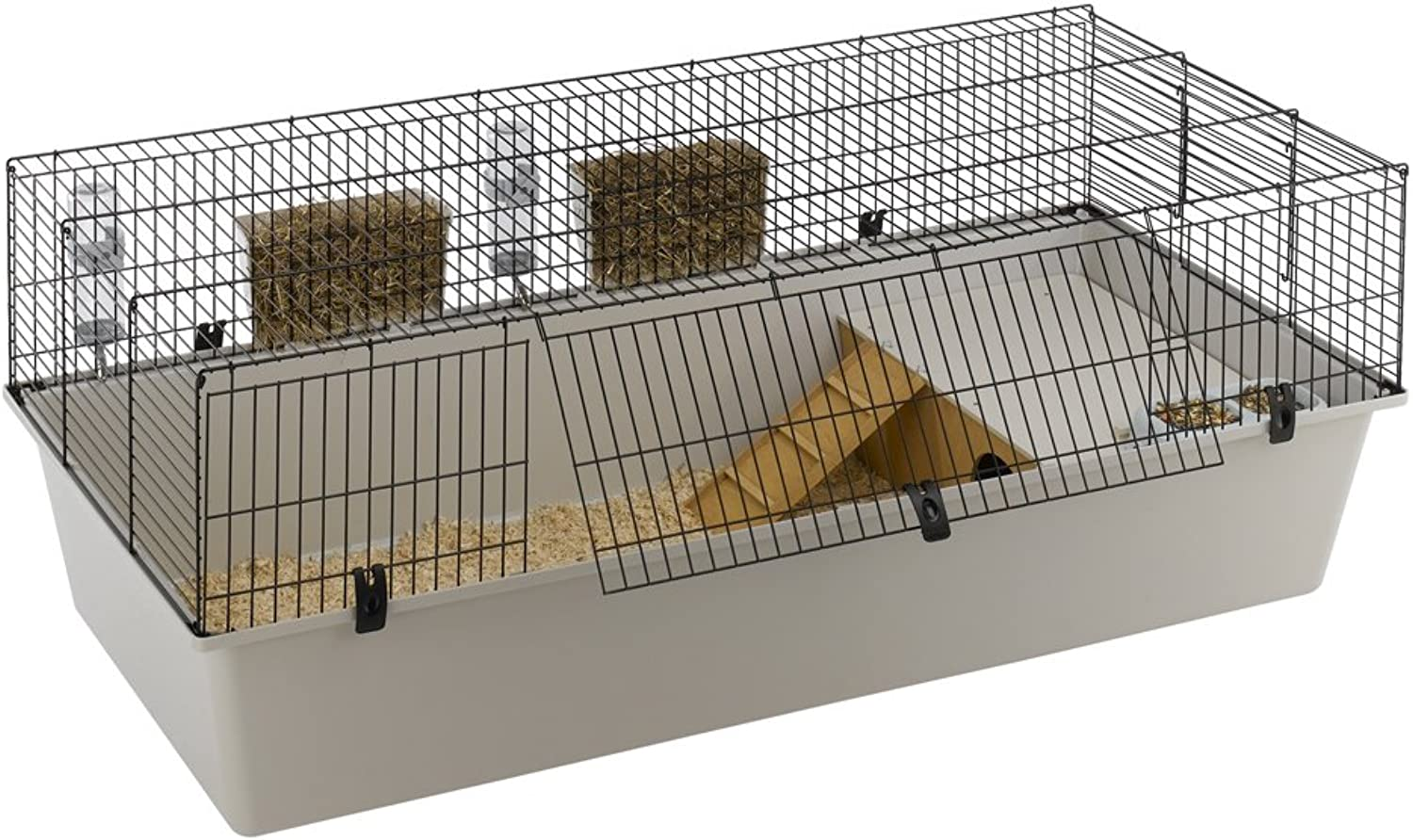 Ferplast Rabbit 160 Cage, 156.5 x 77 x 61.5 cm, Black