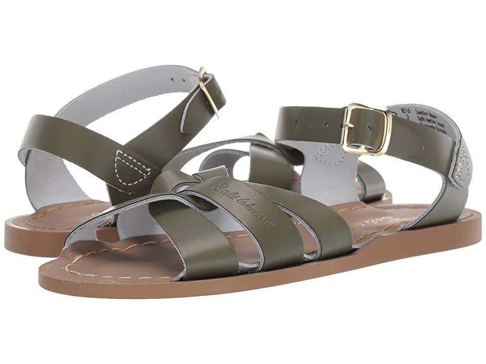Salt Water Sandal by Hoy Shoes The Original Sandal (Toddler/Little Kid) (Olive) Girls Shoes