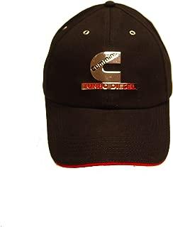 Turbo Diesel Chrome Emblem Hat, Black, Adjustable