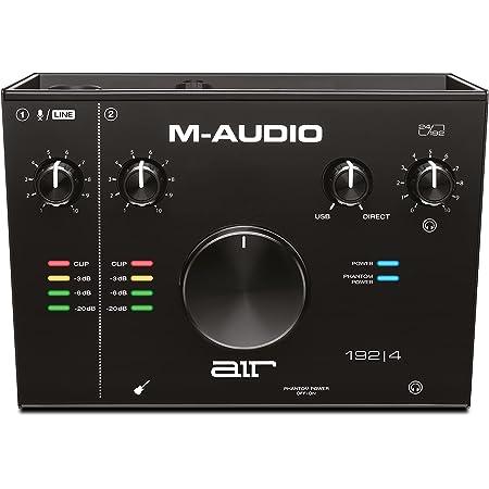 M-Audio AIR Interfaz de audio Instrumentos virtuales, 2 pulgadas/2 salidas, sin MIDI entrada/salida