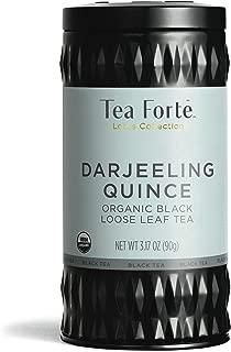 Tea Forte Black Tea, Darjeeling Quince, Loose Tea Canister
