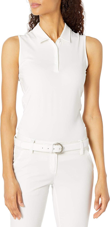 adidas Women's Fresno Mall Ultimate365 Primegreen Shirt Polo Sleeveless 2021 autumn and winter new