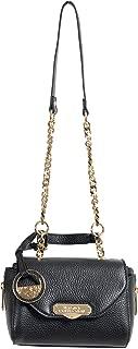 Collection Women's Black Pebbled Leather Handbag Shoulder Bag
