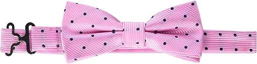 Pink/Navy Dots