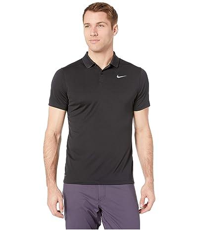 Nike Golf Dry Victory Slim Solid Polo (Black/Cool Grey) Men