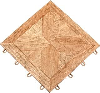 TileFlex Floor Tiles (Light Parquet) (.5