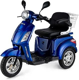 Reducida, E-móvil, vehículo Avcibase, E-triciclo, 25 kilometros/h, colour azul