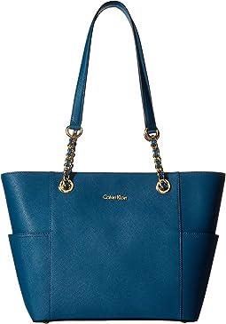Calvin Klein - Saffiano Chain Tote