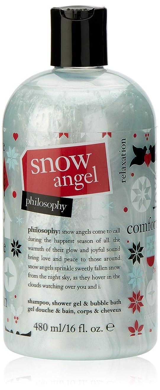性差別旋律的ペリスコープPhilosophy - Snow Angel Shampoo, Shower Gel and Bubble Bath Holiday 2017