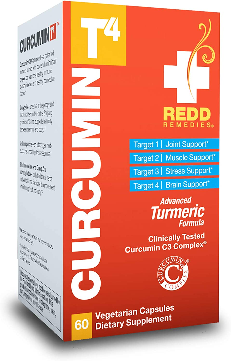 Redd Remedies Curcumin Financial sales sale T4 Turmeric an for Support Joint Health Free Shipping Cheap Bargain Gift