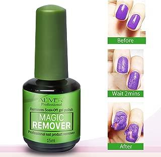 Gel Nail Polish Remover, Magic Nail Polish Remover, Easily & Quickly Removes Soak-Off Gel Polish, Don't Hurt Nails, Professional Non-Irritating Nail Polish Remover-15ml