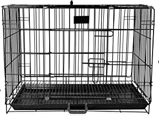 Cage with Removable Tray for Dog 36-Inch (L)