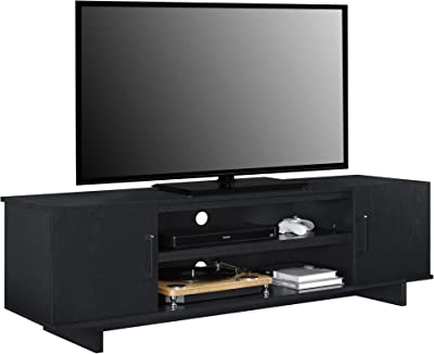 Ameriwood Home Southlander TV Stand, Black Oak