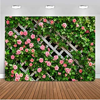 7/×5ft Background Wall Vinyl Flower Petal Arts Dreamlike Christmas Decoration Background Wall Photo Booth Backdrop Curtains for Party Photography Background