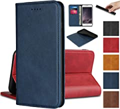 Jaorty for Sony Xperia X Compact Wallet Case,Premium PU Leather Flip Folio Case with Card Slot, Stand Holder and Magnetic Closure TPU Shockproof Interior Protective Case for Sony X Compact,Navy Blue