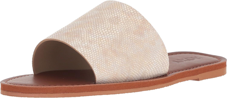 Roxy Womens Kaia Slip Slide Sandal Flat Sandal