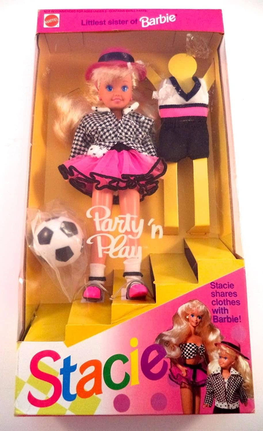 Barbie El Paso Mall - Party 'n Play STACIE 19 Luxury goods Sister Littlest Doll of