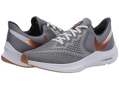 Nike Air Zoom Winflo 6 (Smoke Grey/Metallic Copper/Photon Dust) Men
