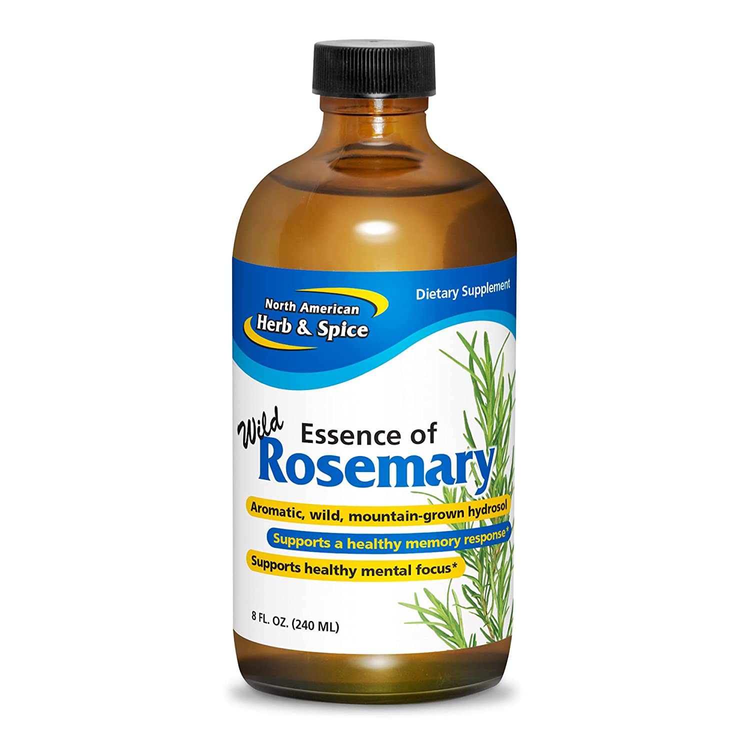 North American Herb Spice Essence of free shipping fl. Daily bargain sale Wild - Rosemary oz. 8