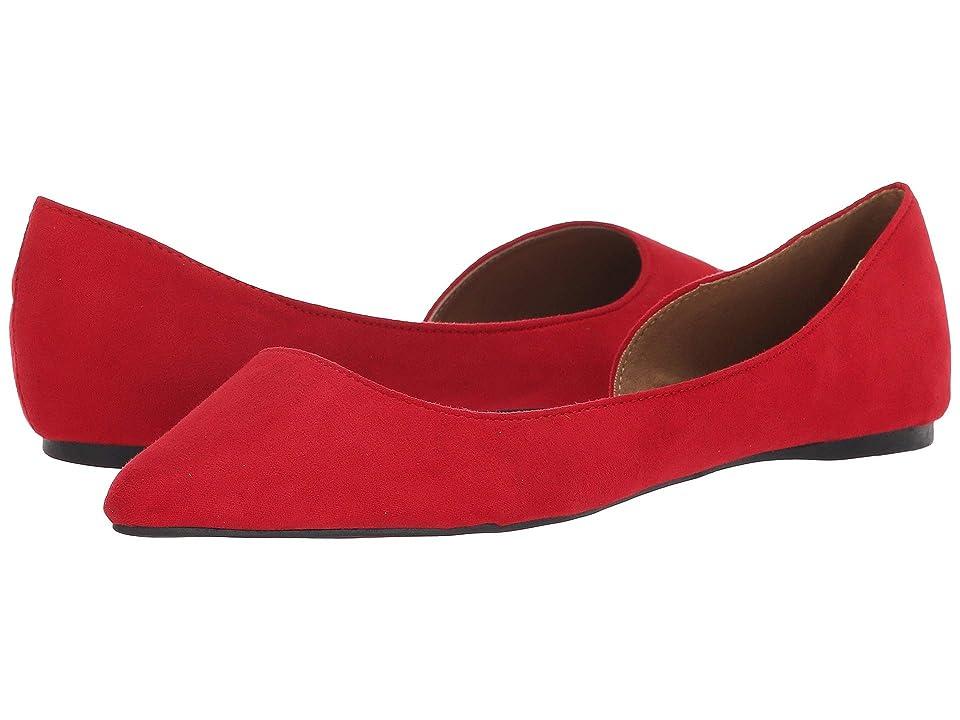 Madden Girl Nevve (Red Fabric) Women