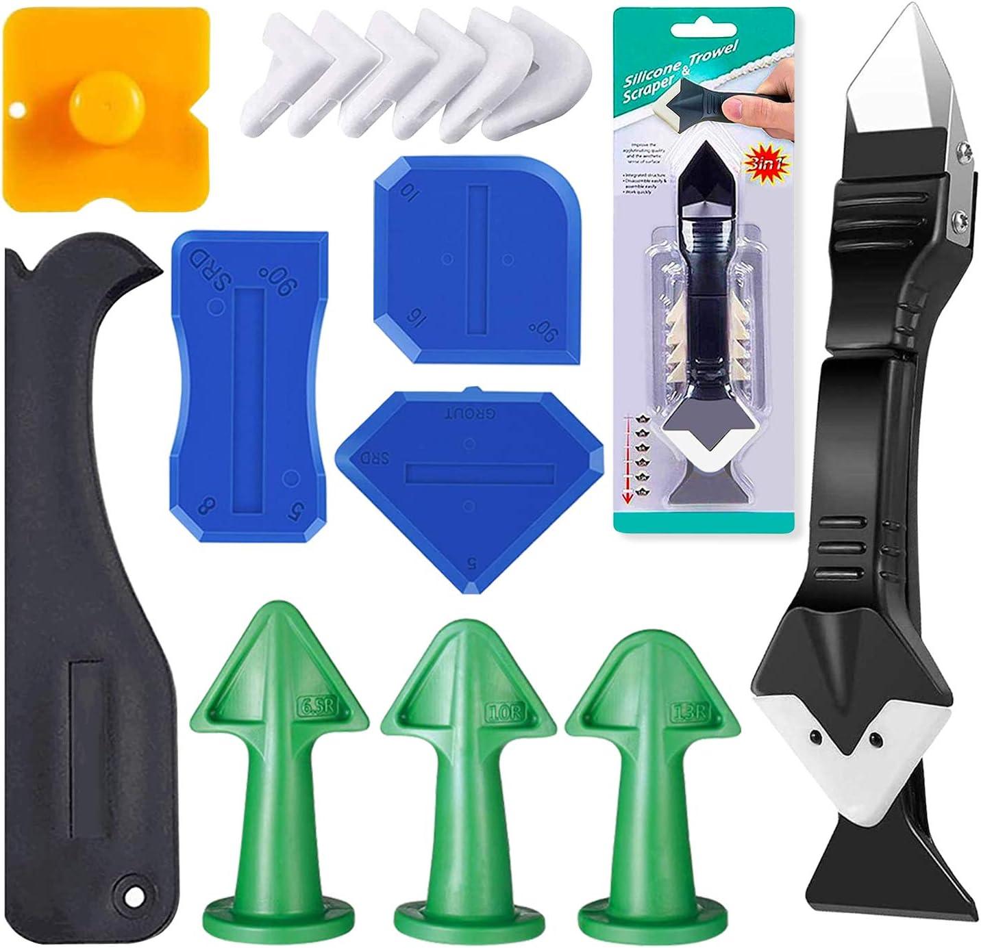 GEARLINTON Caulking Tool online Free shipping / New shopping Kit 3 Steelhead in 1 Caulkin Stainless
