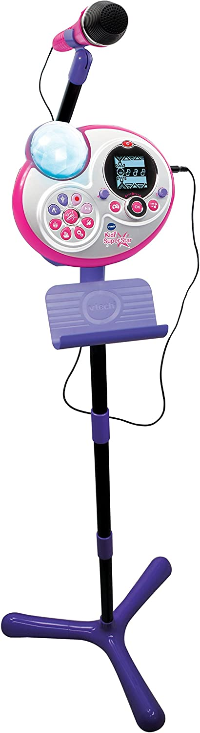 Vtech – 178505 – Kidi Super Star Stand Microphone [French Language ...