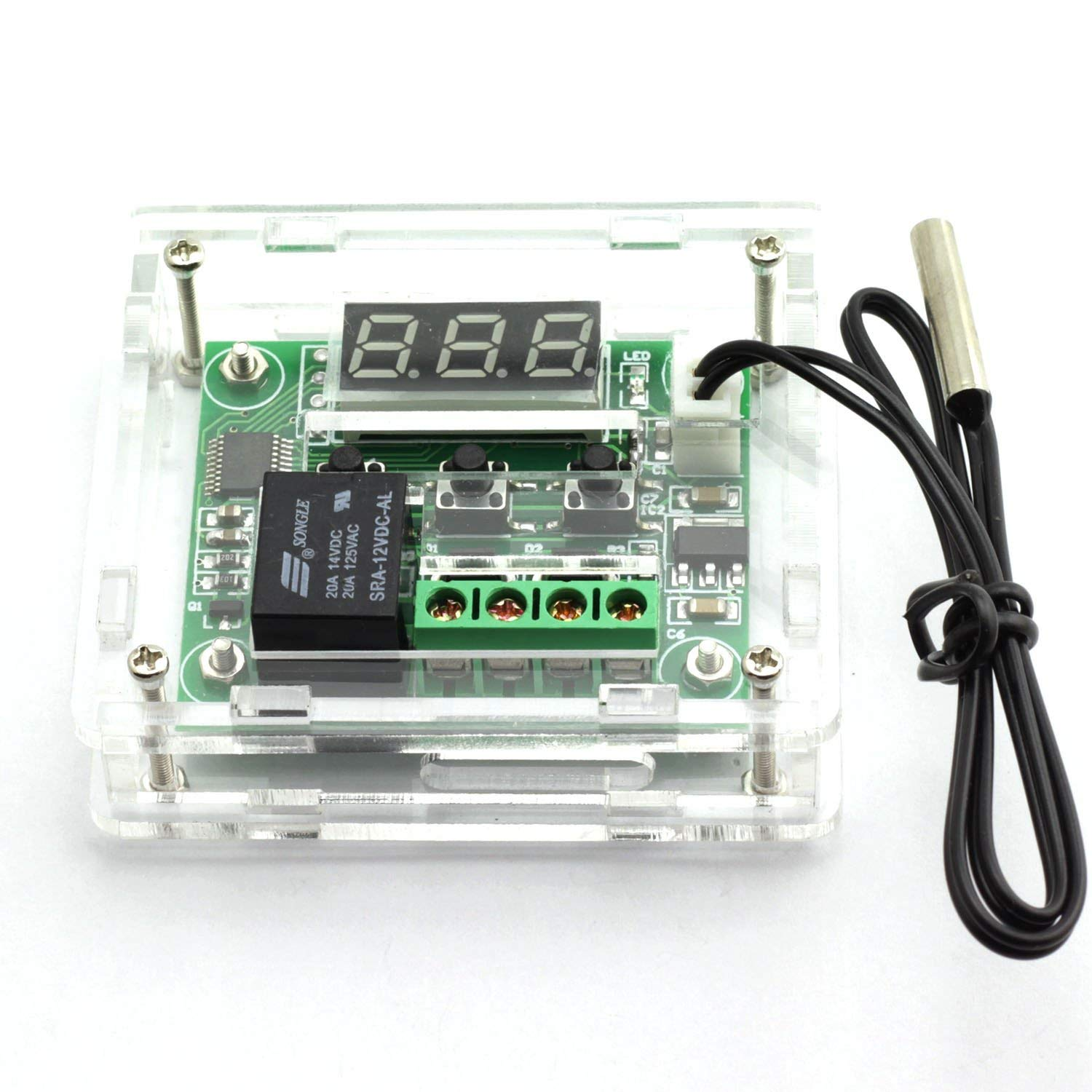 Temperature Controller DC shop 12V Digital New color Heating Temp Cooling Therm
