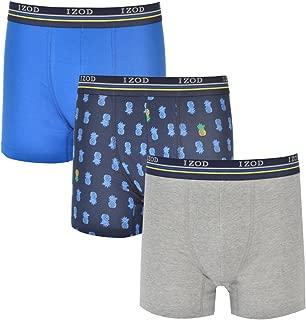 Men's Stretch Boxer Briefs Underwear, 3-Pack