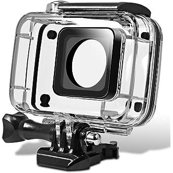 Riuty Funda Impermeable para Carcasa xiaomi 1 YI Action Camera Funda Impermeable