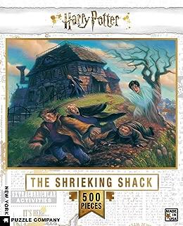 New York Puzzle Company - Harry Potter Shrieking Shack - 500 Piece Jigsaw Puzzle